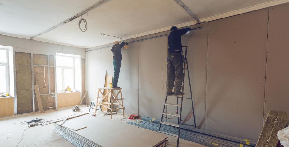 construcao a seco drywall - Plack